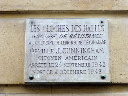 Plaque in Memory of Orville J. Cunningham