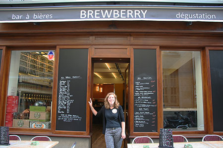Cécile Thomas, Proprietor of Brewberry Bar