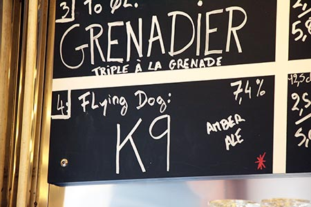 Flying Dog on Tap