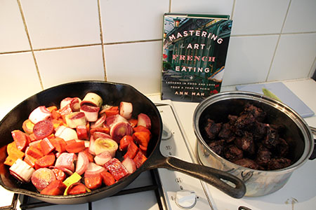 Browning the Vegetables