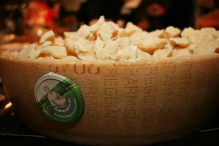 Parmareggio Brand Cheese
