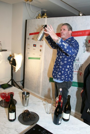 Stephane Durot Preparing to Spritz