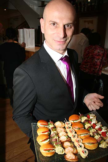 Dimitri Sotiropoulos - Waiter at Mavrommatis