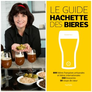 Elisabeth Pierre and Her Book Guide Hachette des Bières
