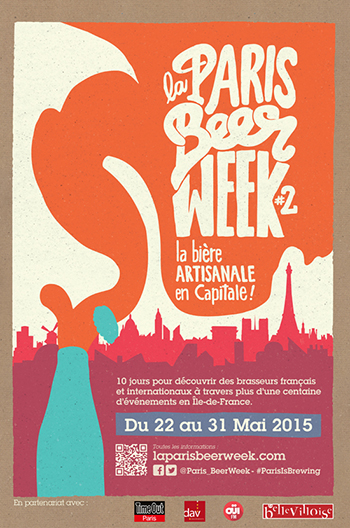 Paris Beer Week poster