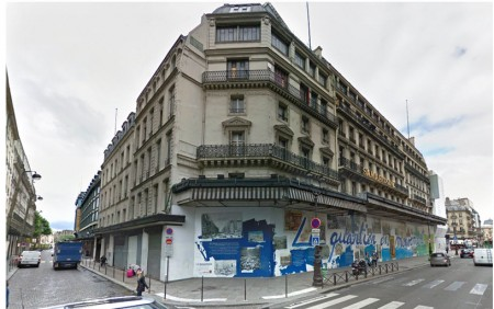 Samaritaine on Rue de Rivoli