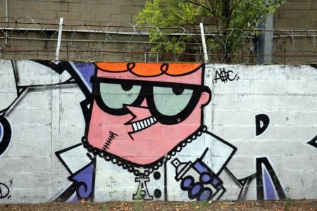 A Street Artist's Self-portrait