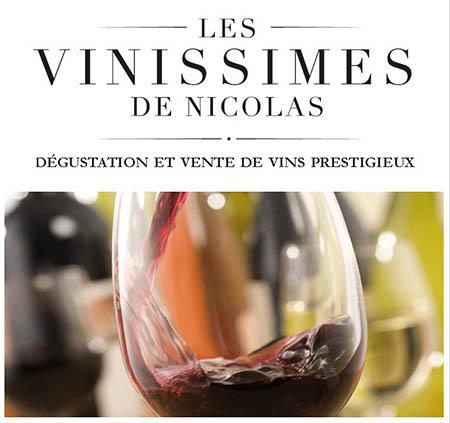 Les Vinissimes de Nicolas