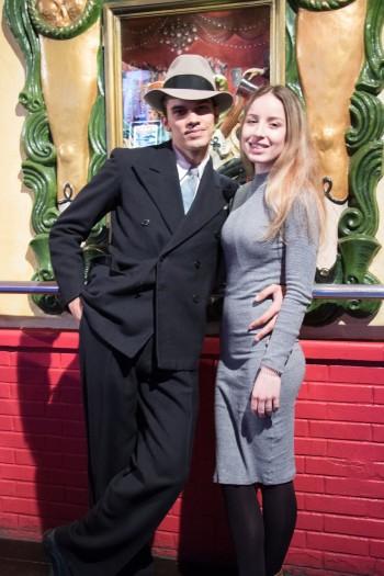 Antoine and Daniela
