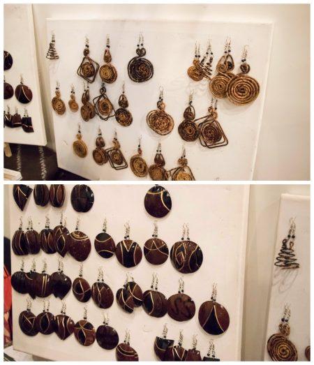 Pendant Earrings by Noor Art