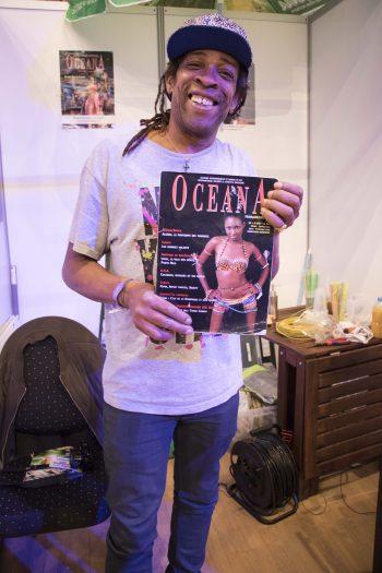 D'Jackson Suriam with Océana Magazine