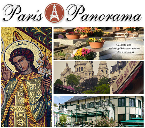 Paris Panorama Newsletter for November 2017